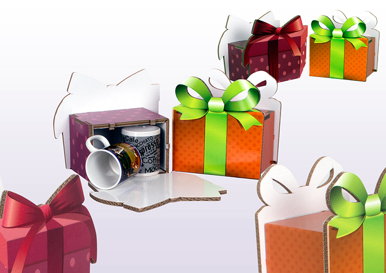 PACKAGING CAJA REGALO CARTON ABIPLEX